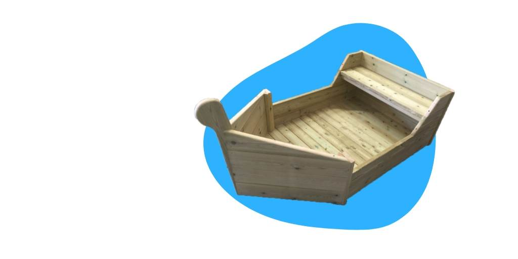Childrens activity boat