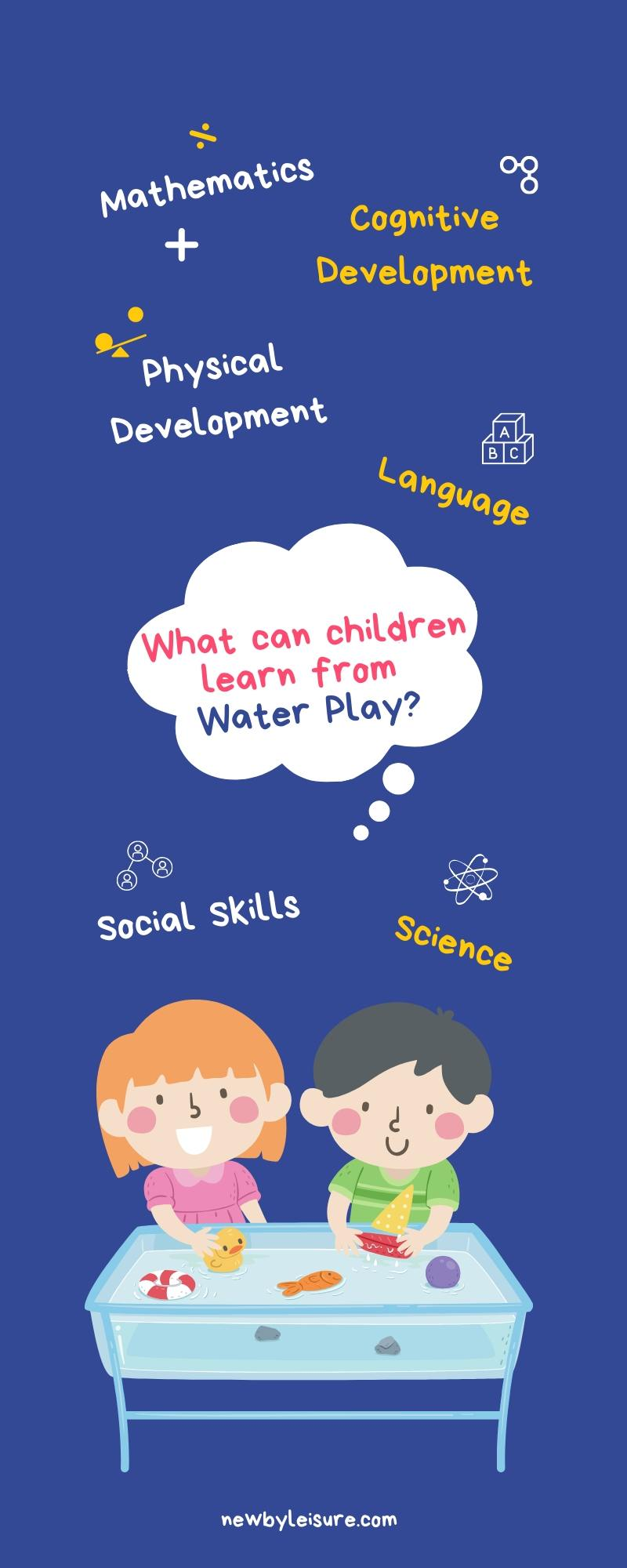 What can children learn from water play