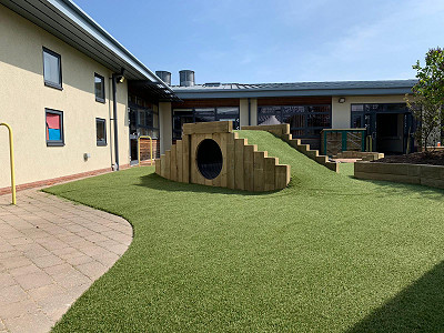 Children's Outdoor Play Tunnel