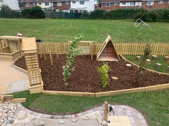 Gossey Lane Academy Natural Playground Design