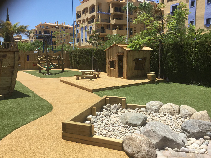 Woodcutters Cottage - Playground Design