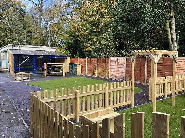 Natural Play Area - Nocton Community Primary School