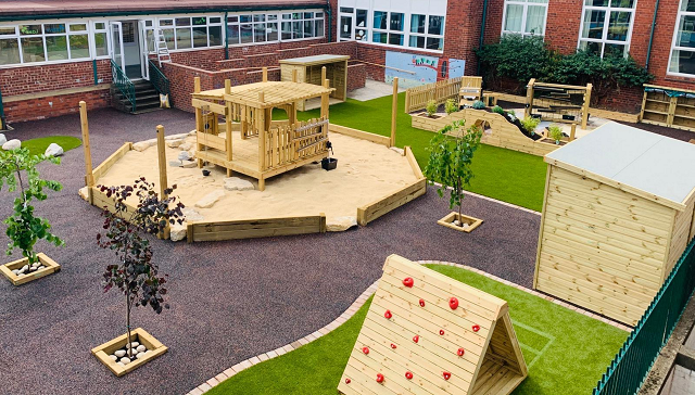 Creative Play Environment - Wybourn Community Primary and Nursery School