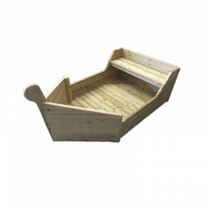 Children's Wooden Play Boat