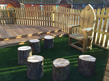 Bespoke Outdoor Furniture for School Playgrounds