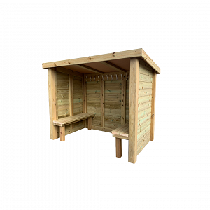 Wooden Changing Hut