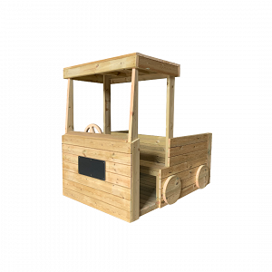 Outdoor Wooden Fire Engine