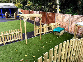 Natural Fencing for Outdoor Areas