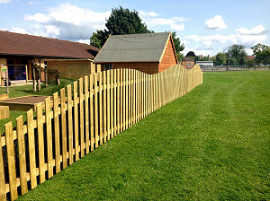 Natural Fencing for School Playgrounds