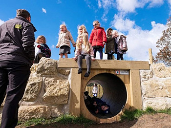 Natural Play Tunnel for Early Years Children
