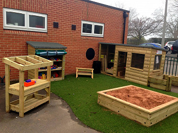 Newby Leisure's Timber Play Resources