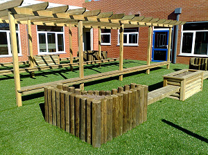 Outdoor Timber Furniture for Schools