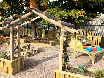 Timber Fencing for Playgrounds